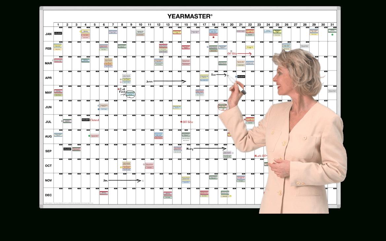 Master 365-Day Magnetic Whiteboard Timeline Calendar  365 Days Calendar