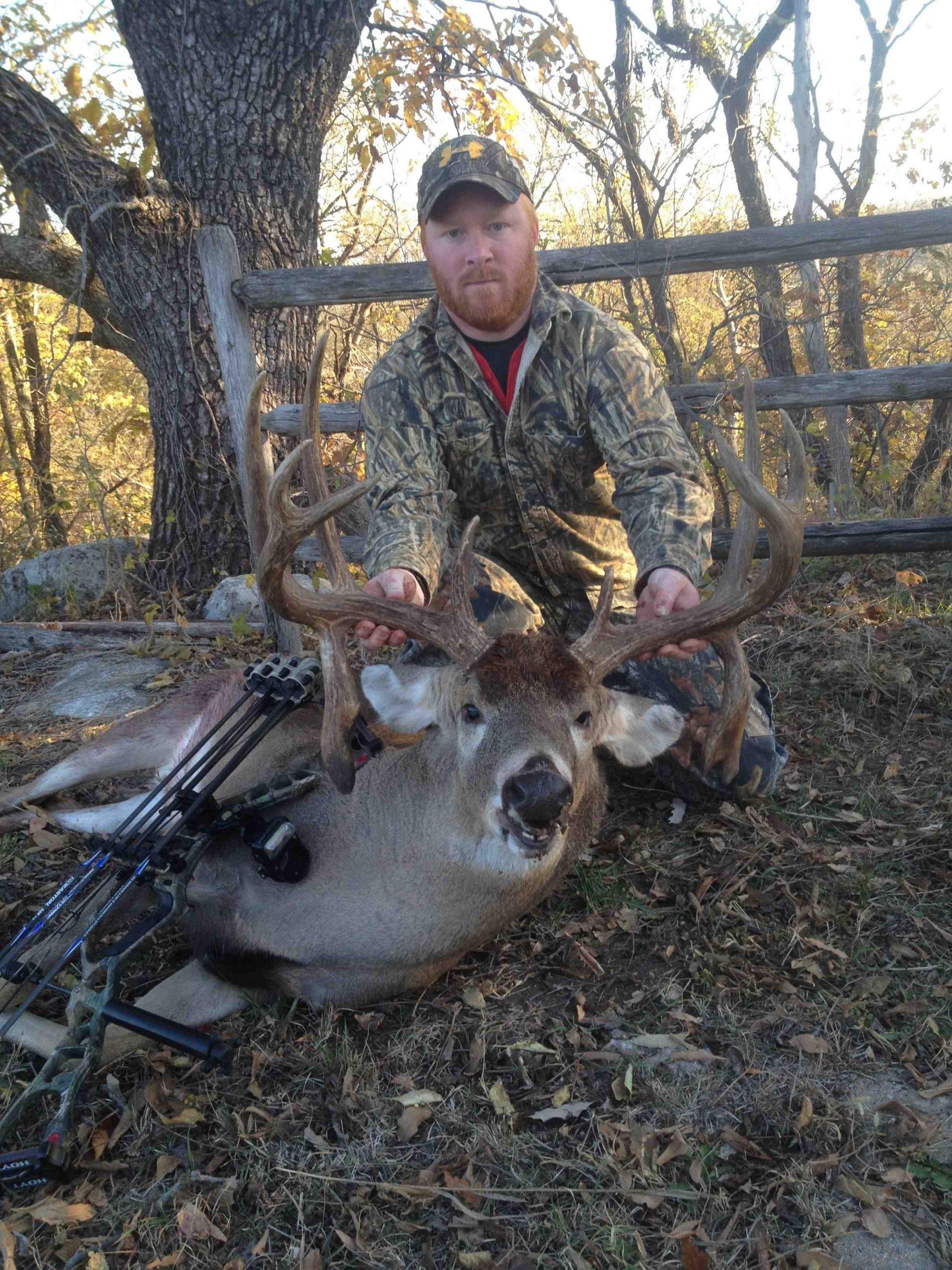 Michael Morgan Buck: Second Chance, Double Droptines And 178  Kansas Deer Rut 2021