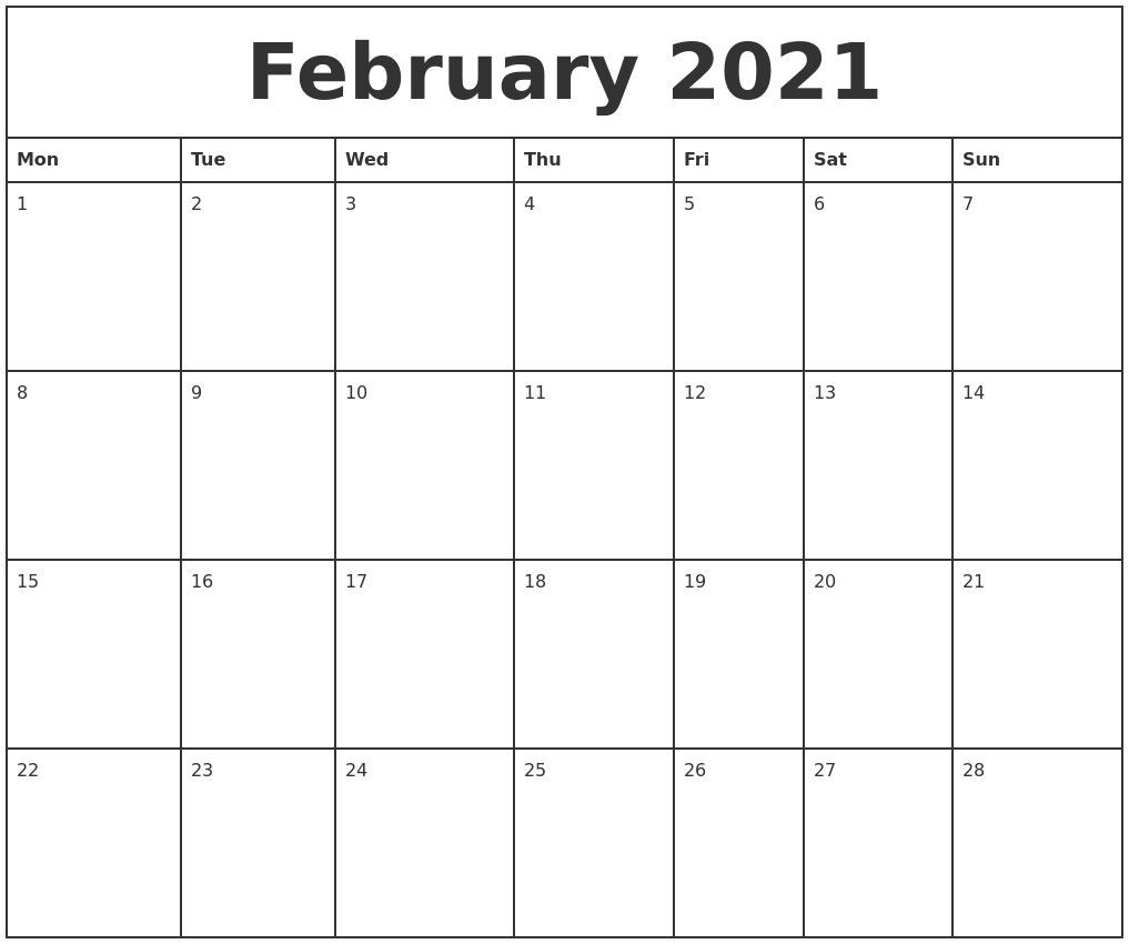 Monthly Planner 2021 Printable Full – Welcome To Our Website  Free Printable Bill Calendar 2021