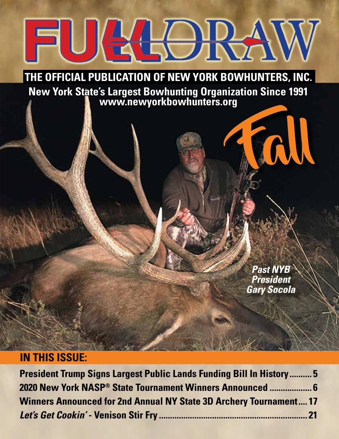 Ny Bowhunters Fall 2020 Newslettergenesee Valley  Nys Rut 2021