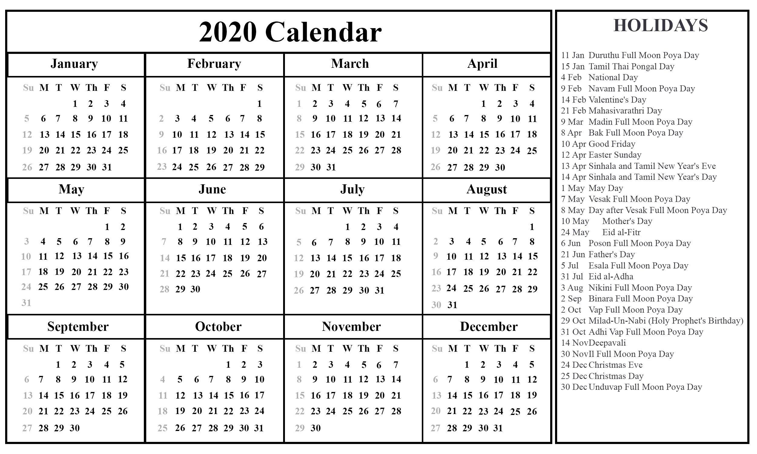Pin On Calendar Ideas  Depo Calendar 2021 Double Sidede