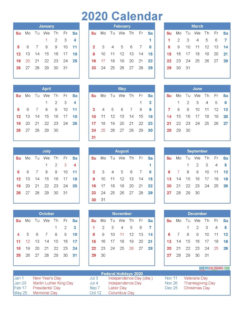 Pin On Calendar Templates  Free Printable Calendar 12 Months