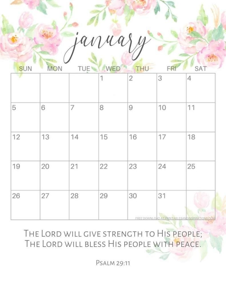 Pin On Planner/Planning  Calender With Scriptures Template