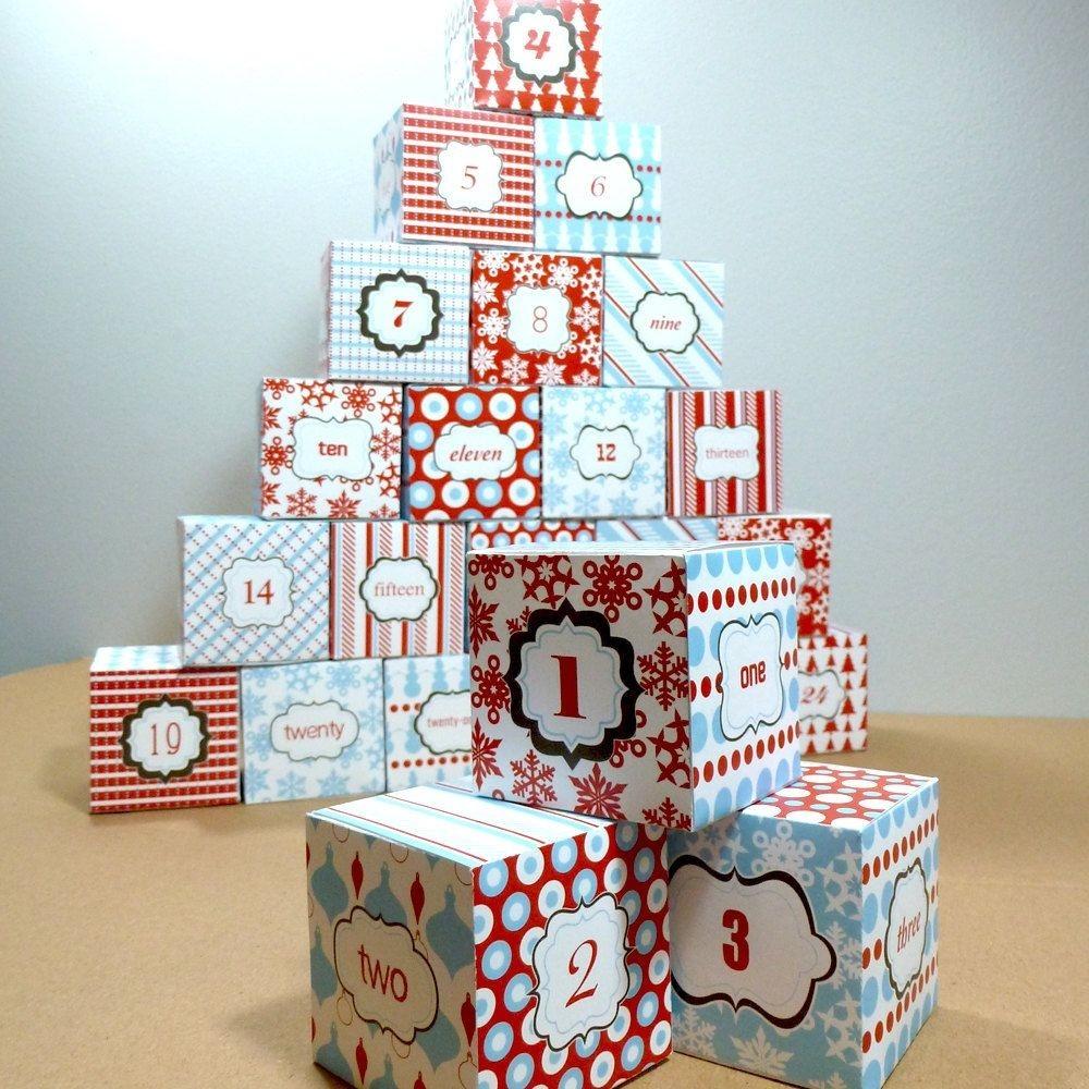 Pinno Panic Events Agency On Advent Calendar Diy Ideas  Advent Calendar Box