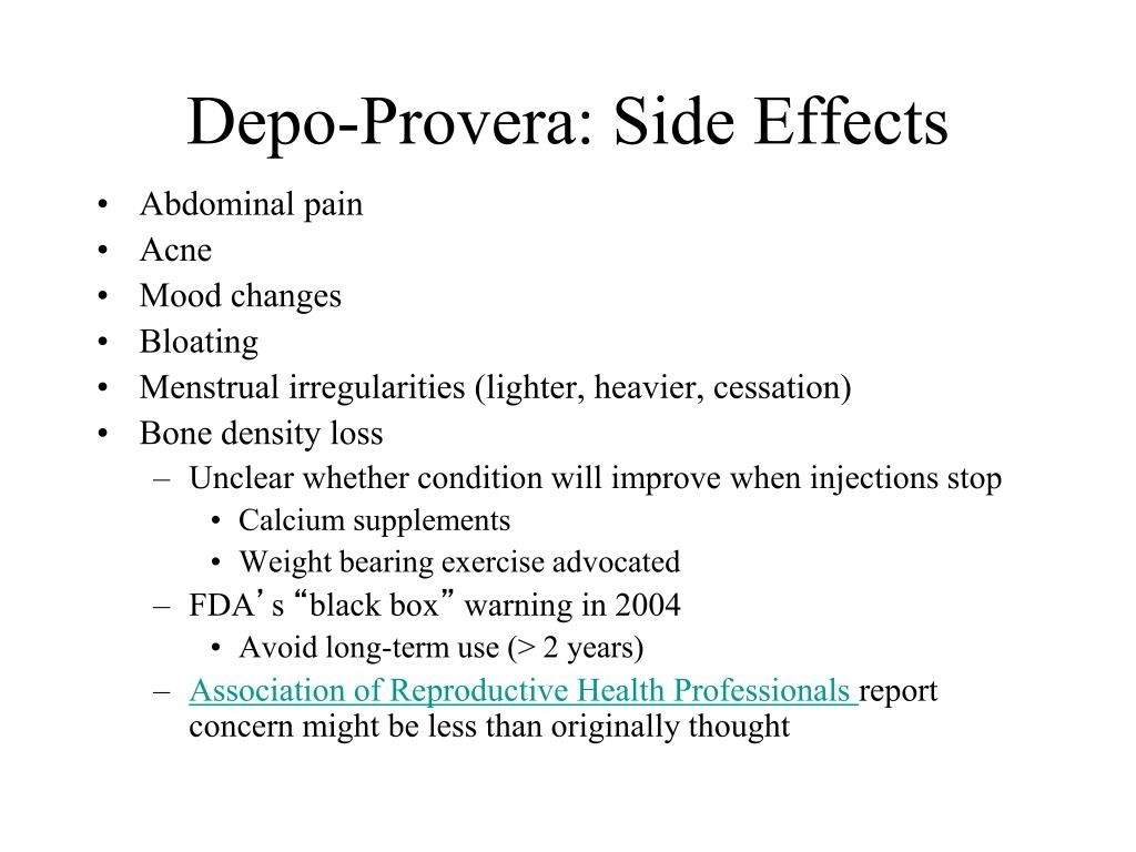 Ppt - Contraception Powerpoint Presentation, Free Download  Depo-Provera Injection Schedule