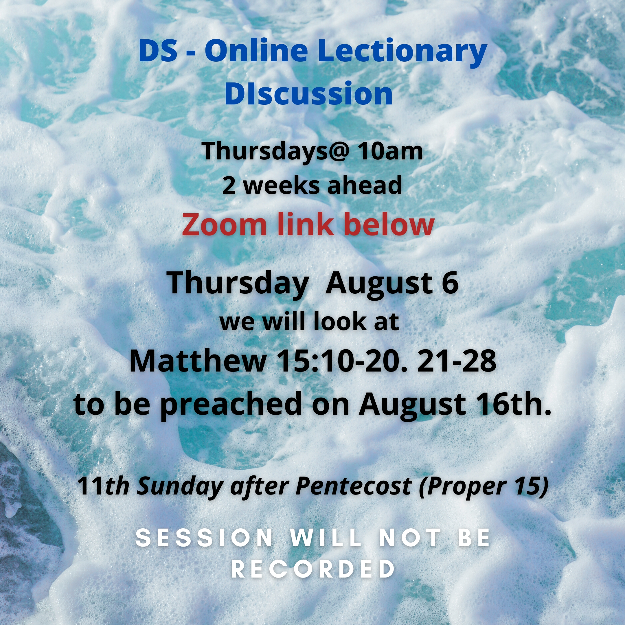 Preachers! Join The Ds On Zoom For Lectionary Text  Lectonary For March 1 2020 For United Methodist