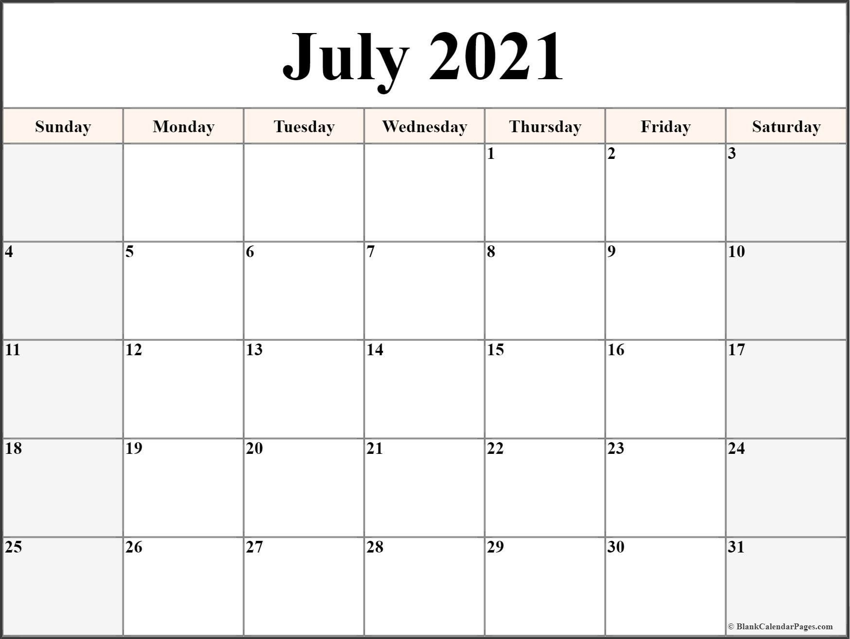 Print Free Monthly Calendar 2021 For Nice Class – Allowed To  Printable Calendar Monthly 2021 Free