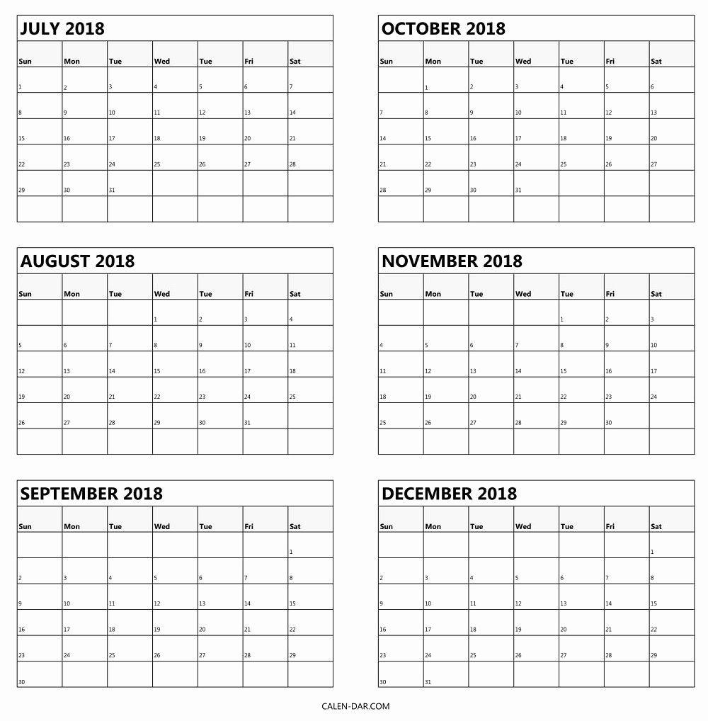 Printable Calendar 6 Months Per Page In 2020 | Calendar  Depo-Provera Calendar From Manufacturer