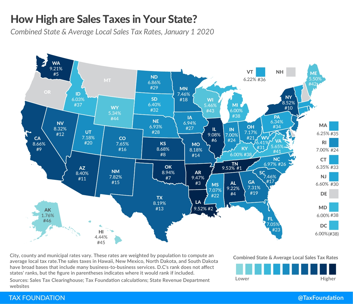 State & Local Sales Tax Rates | 2020 Sales Tax Rates | Tax  Tax Free Weekend Louisiana 2021