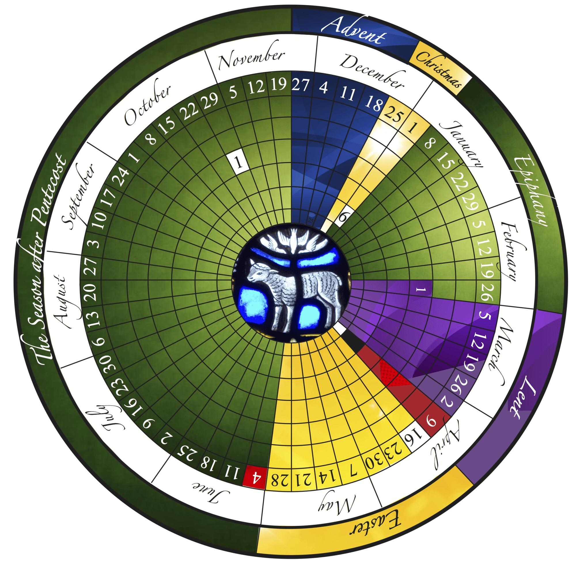 The Liturgical Year Explained (Plus Free Printable Calendar!)  Printable Lectionary Calendar