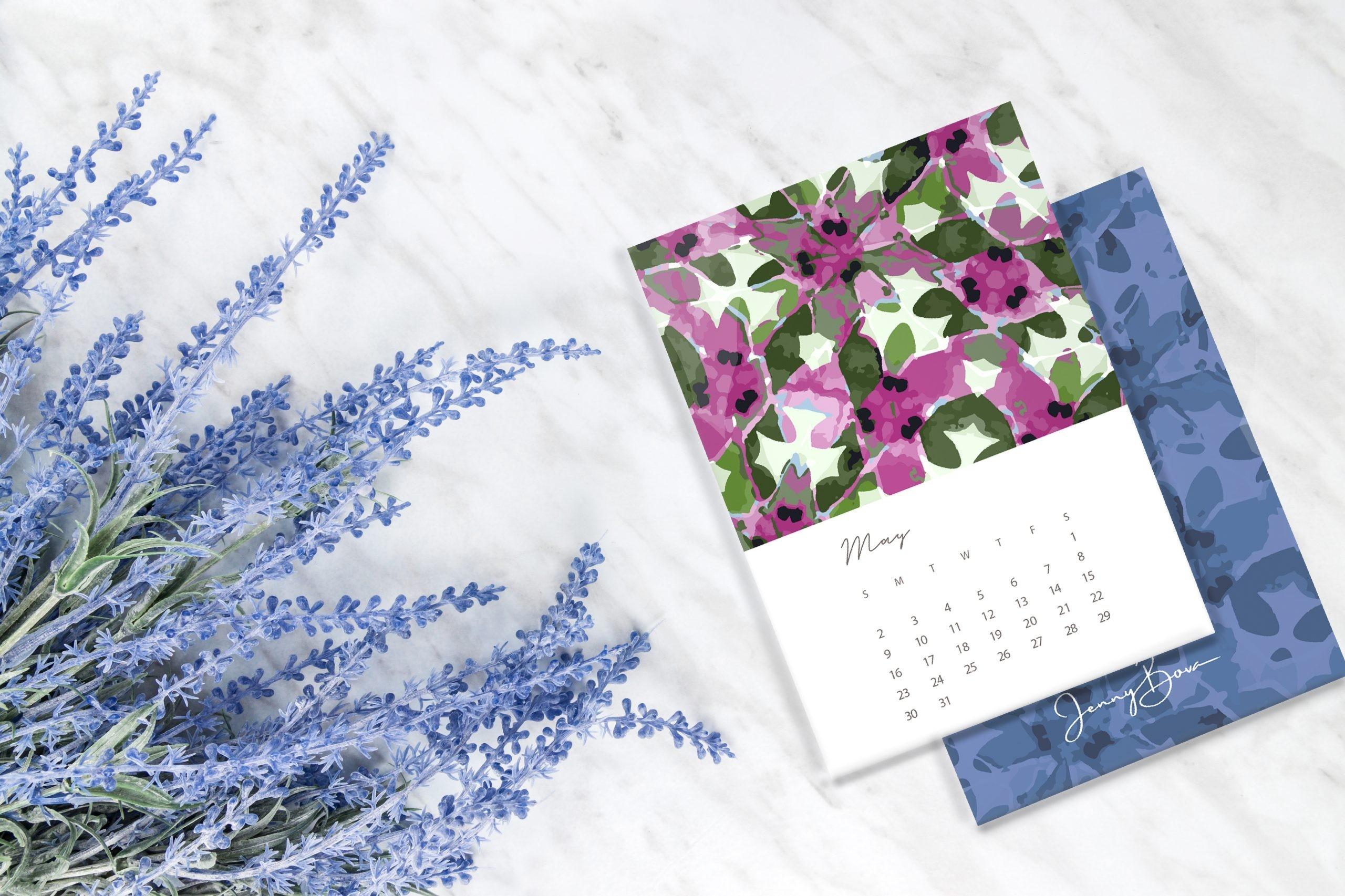 Top 5 Desk Calendars For 2021 - Pattern Observer  Depo Calendar 2021 Double Sidede