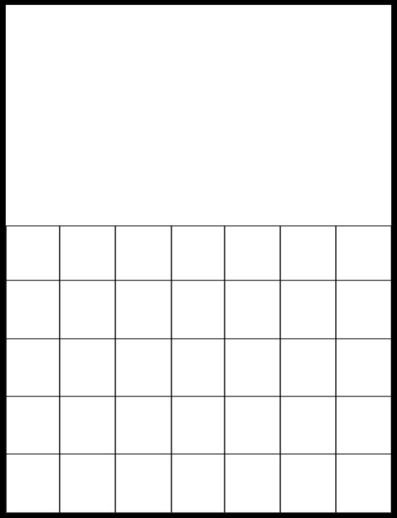 Uscalendarpics   Printable Blank Calendar, Printable  Blank Calendar Page Template Preschool