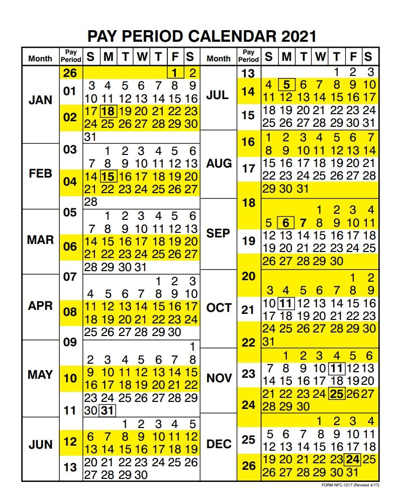 Usda Payroll Calendar 2021 | Payroll Calendar  Dfas Payroll Calendar