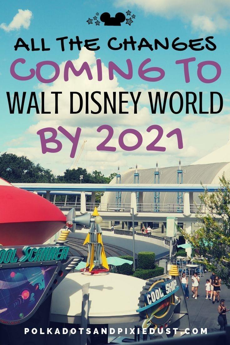 Walt Disney World 50Th Anniversary Changes2021 | Disney  Free Disney World Attraction Checklist 2021