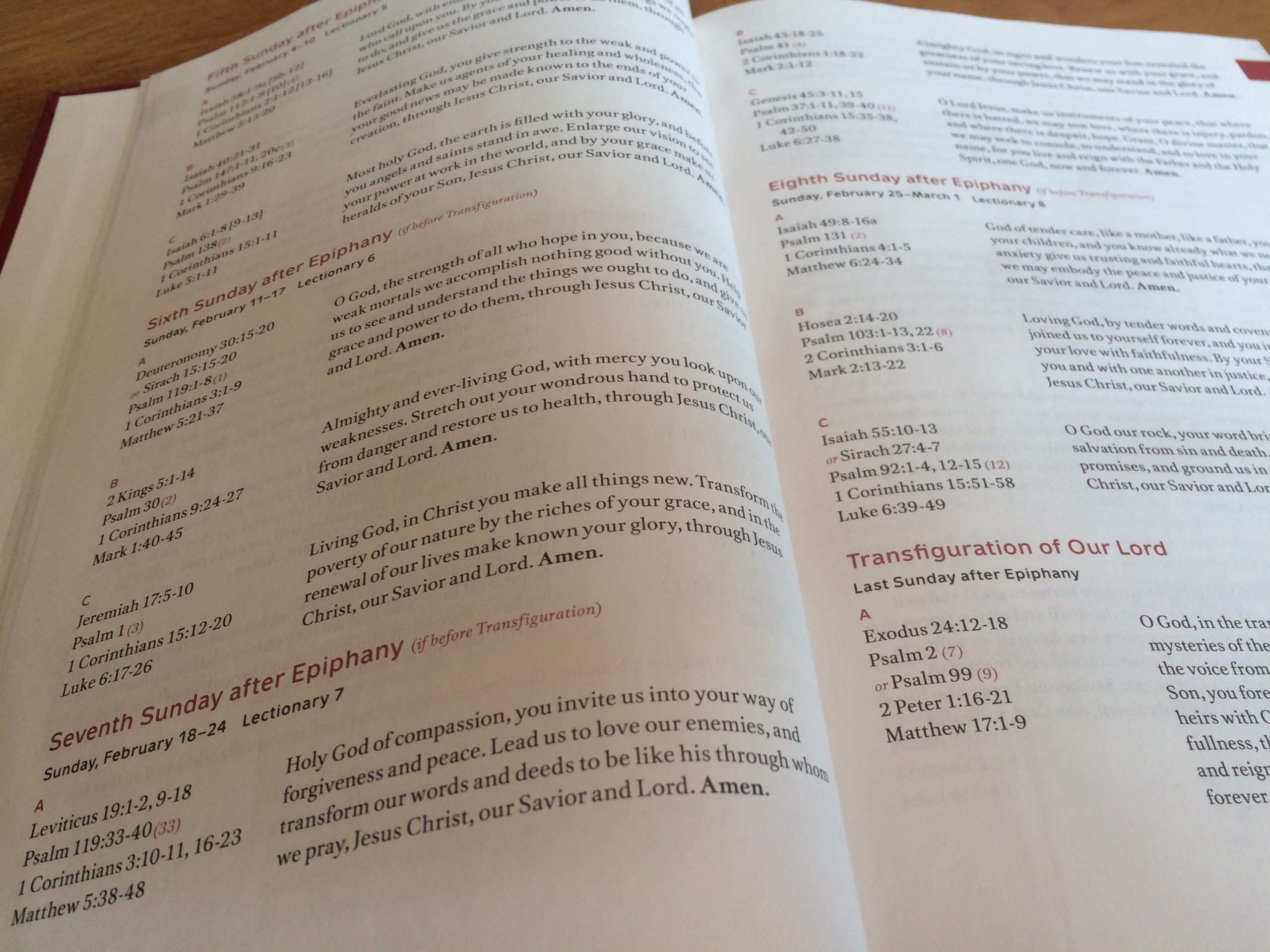 Why I Left The Revised Common Lectionary Behind | The  Revised Common Lectionary Calendar