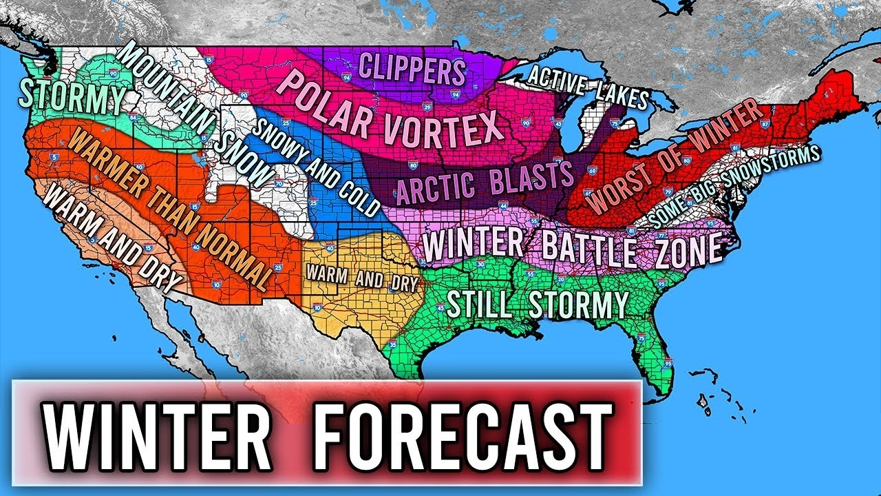 Winter Forecast 2020 - 2021 #2  Projected Deer Rut Dates For 2021-2021