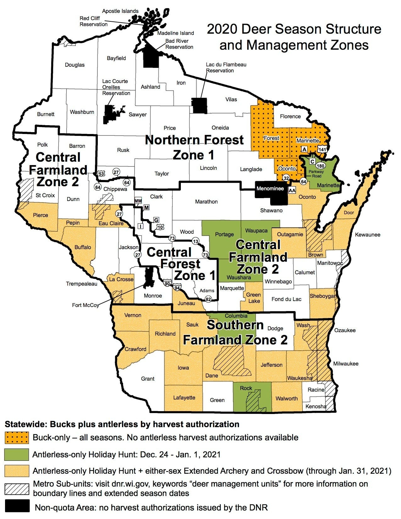 Wisconsin Deer Hunters Encouraged To Follow Coronavirus  2020 Rut Forcast For Wisconsin