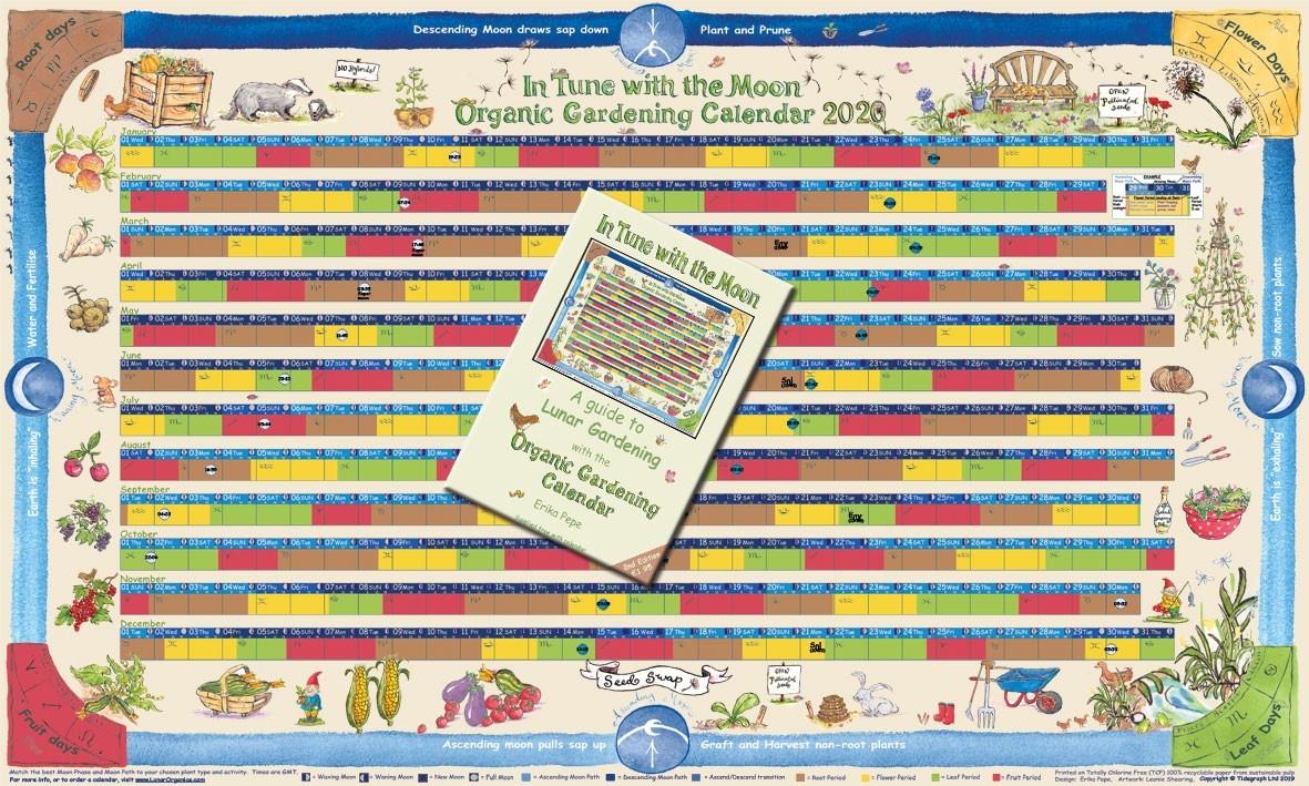 Year Planners | Lunarorganics  Lunar Garden Calendar