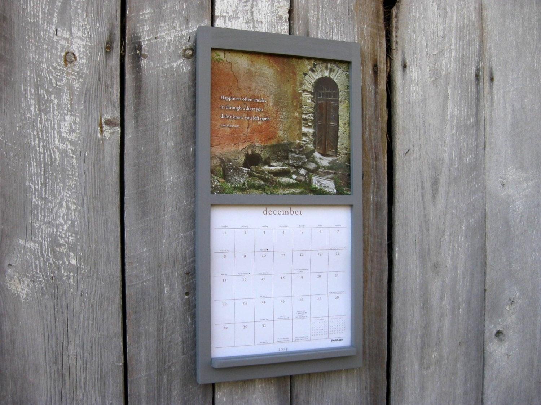 12 X 12 Wall Calendar Holder - Calendar Inspiration Design  Calendar Frames And Holders