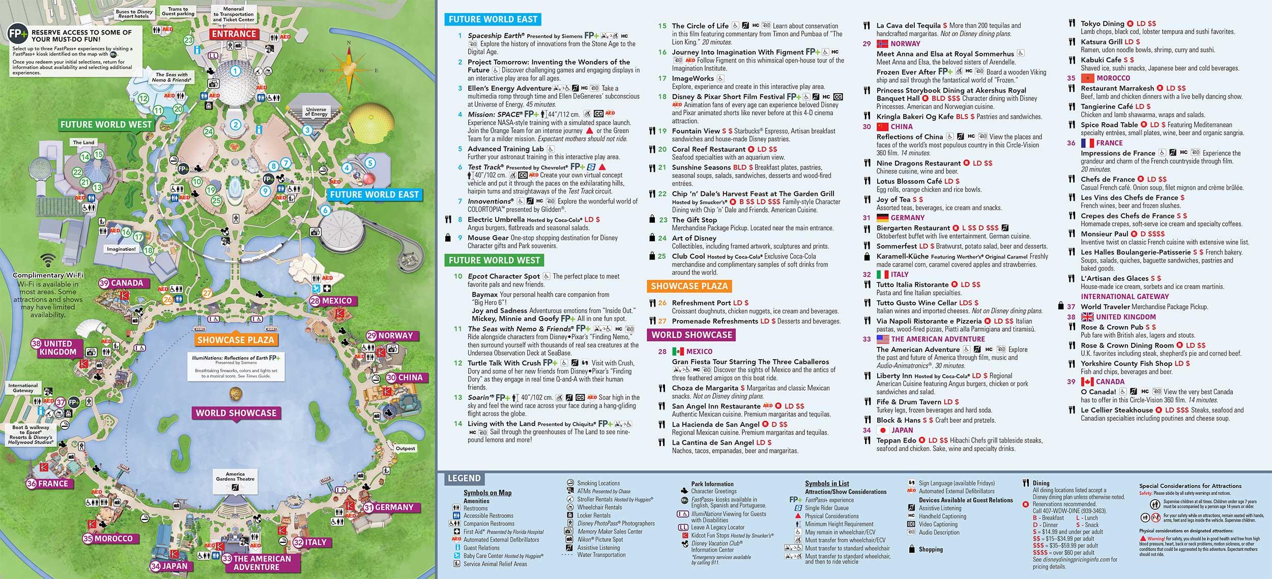 14 Day Disney World Ultimate Multi-Park Tickets 2019  Printable List Of Disney World Rides 2021