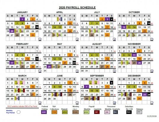 2020 Federal Pay Date Calendar   Printable Calendar  2021 Government Payroll Calendar