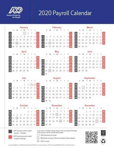 2020 Federal Pay Date Calendar | Printable Calendar  2021 Opm Payroll Calendar