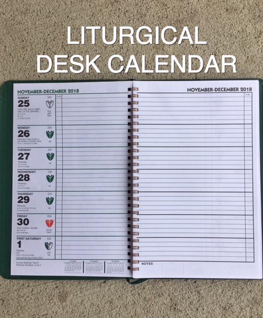 2021 Liturgical Desk Calendar Episcopal Edition | Calendar  Ligurthal Calendar 2021 Methodist Episcopal