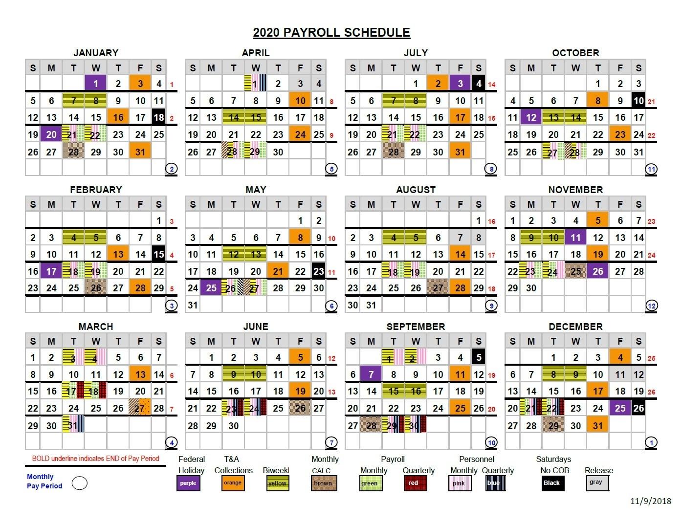 2021 Pay Periods Federal - Calendar Inspiration Design  Federal Pay Period Calendar For 2021