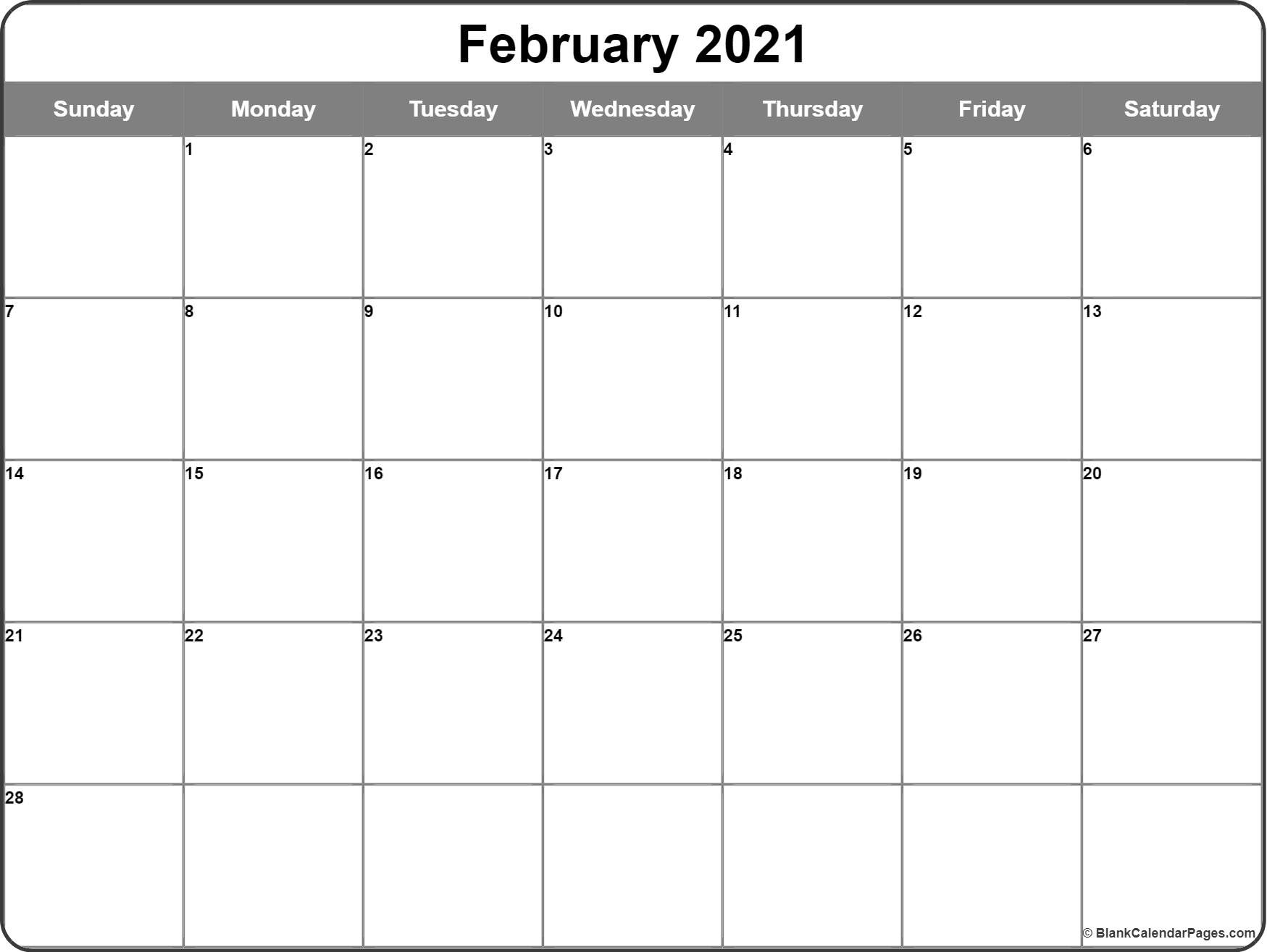 2021 Print Free Calendars Without Downloading   Calendar  Blank Monthly Calendar Printable Free Without Downloading