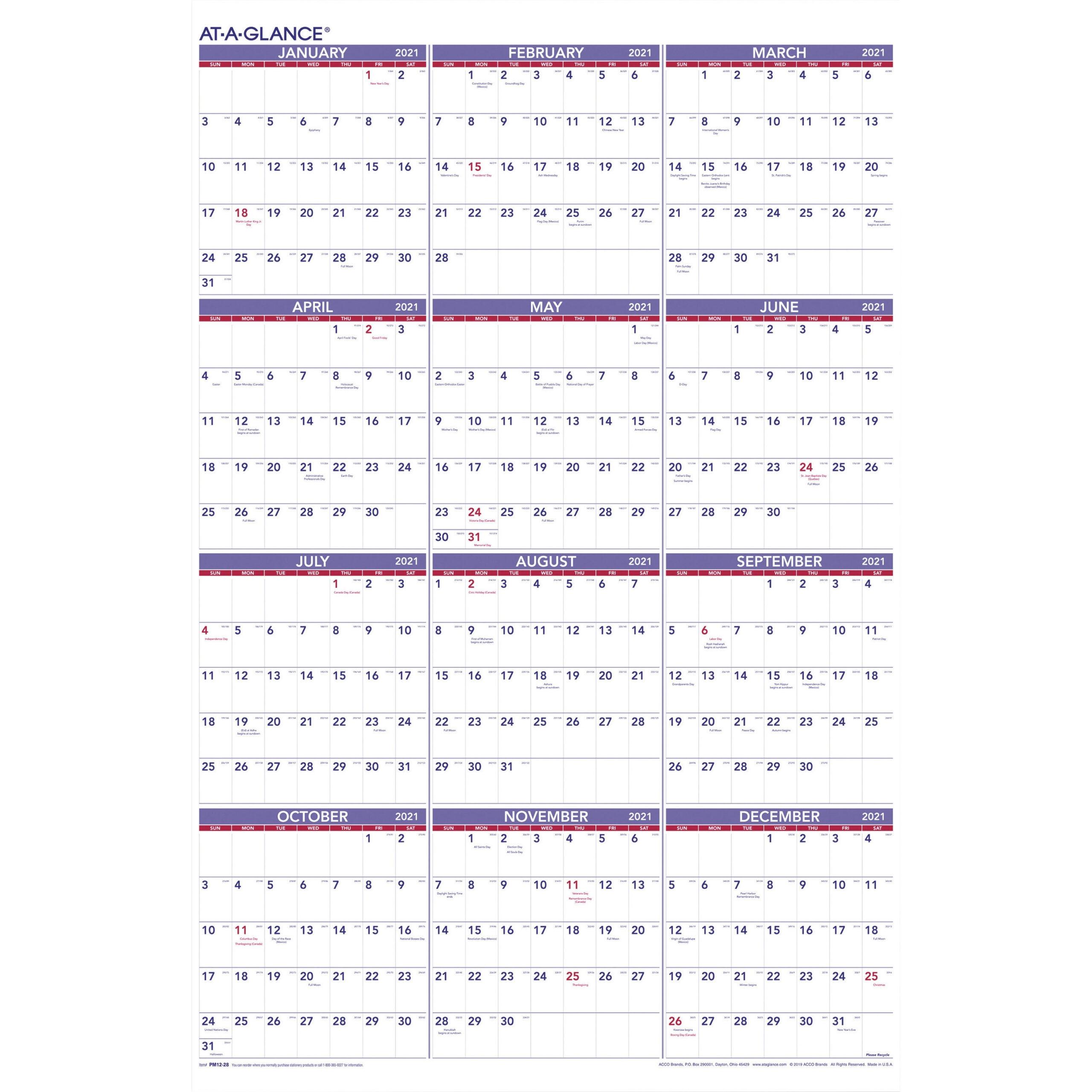 2021 Yearly Julian Calendar • Printable Blank Calendar  Julian Date Code For 2021