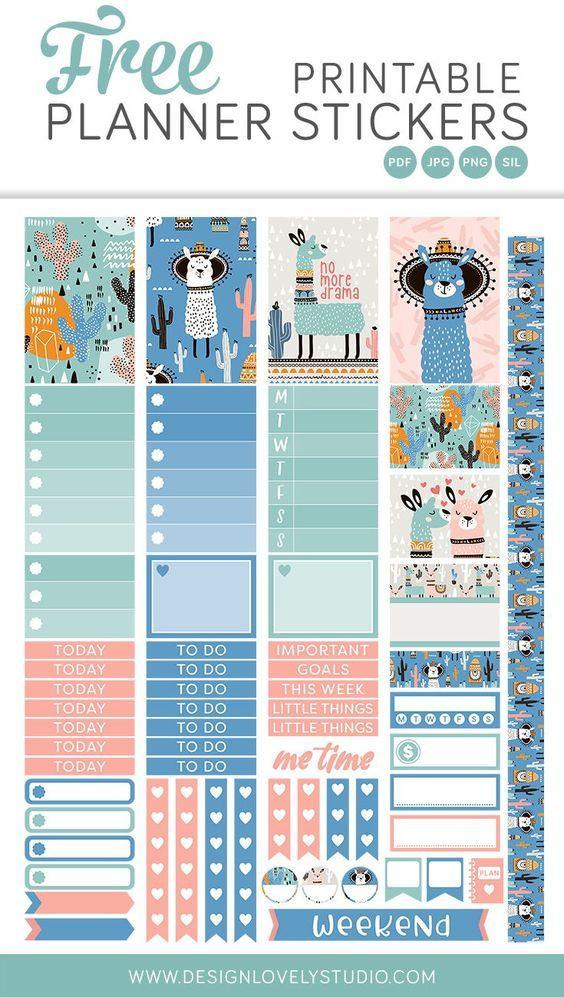 25+ Free Pdf Planner Printable Stickers That'Ll Make Your  Printable Planner Stickers Numbers 1 To 31
