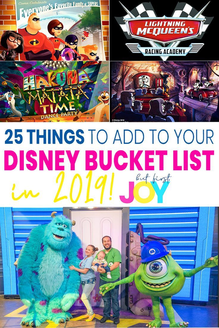 25 Things To Do At Disney In 2019 With This Disney World  List Of Current Disney World Attractions