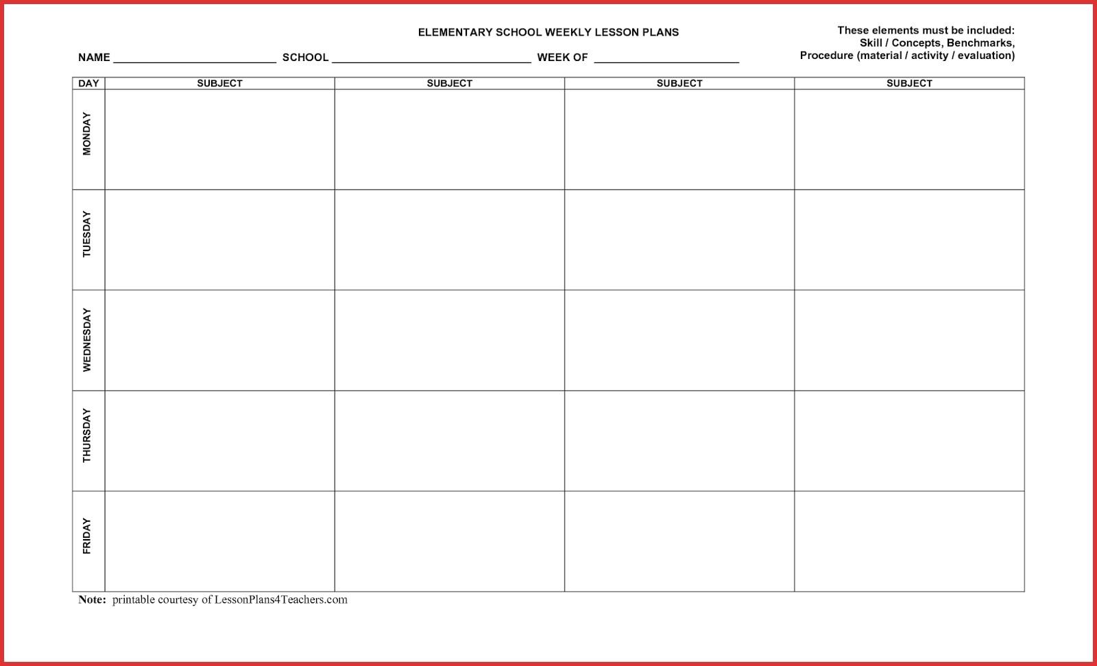 5 Day Week Calendar Printable - Calendar Inspiration Design  Printable Day And Time Calendars