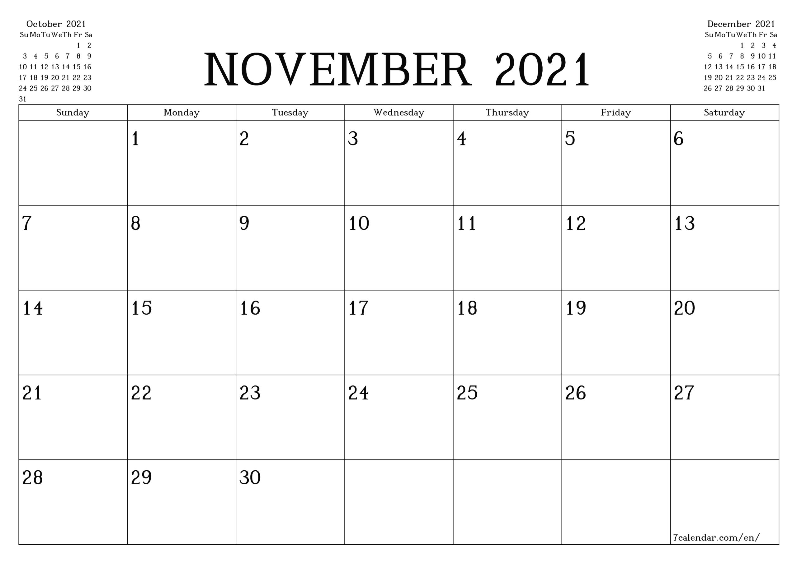 5 X 7 Printable Calendar 2021 6 Months | Printable  2021 2021 Monthly Calendar Printable Free