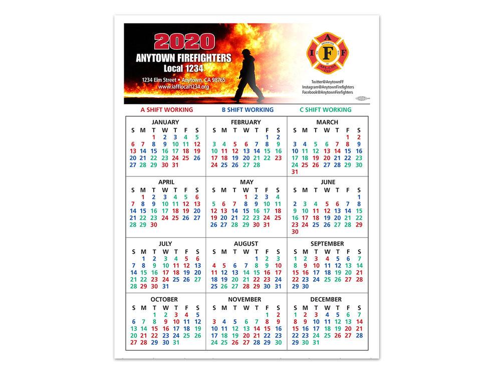 Abc Firefighter Shift Calendar 2021 | Calendar 2021  Fdny Shift Schedule