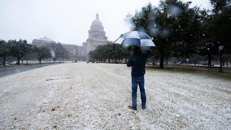 Austin Area Snowfall Totals, Jan. 10, 2021   Kvue  Predicting The Rut In Central Texas 2021