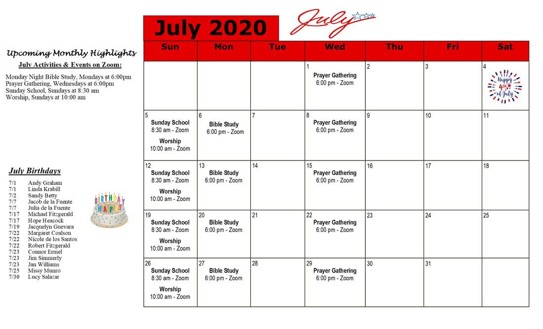 Calendar - Wesley United Methodist Church  United Methodist Yearly Calendar