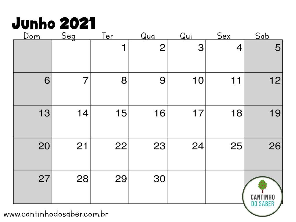Calendário 2021 Para Imprimir Com 1 Mês Por Página  Calendario Por Mes2021