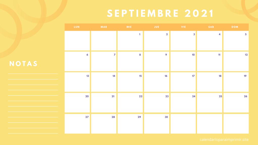 Calendario 2021 Para Imprimir | Gratis  Calendario Por Mes2021