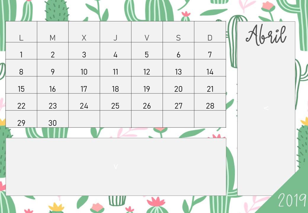 Calendarios 2019 Para Descargar Gratis  Calendario Por Mes2021