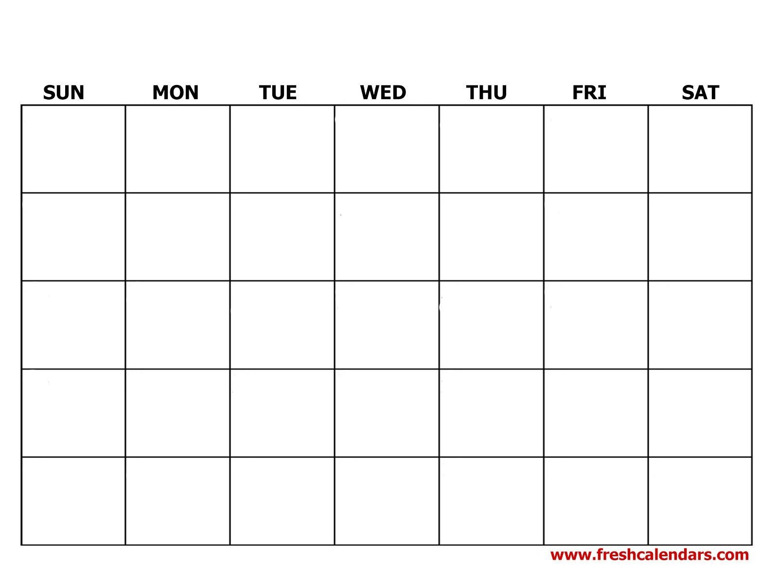 Create Your Fill In A Calendar | Get Your Calendar Printable  Free Printable Calendar Fill In