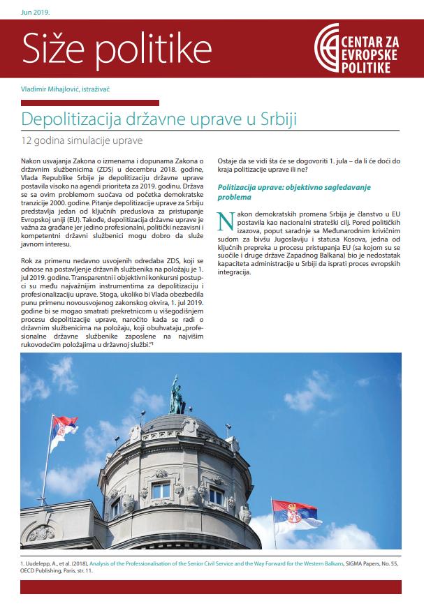 Depolitizacija Državne Uprave U Srbiji: 12 Godina  Depo Administartion Calendar 2021