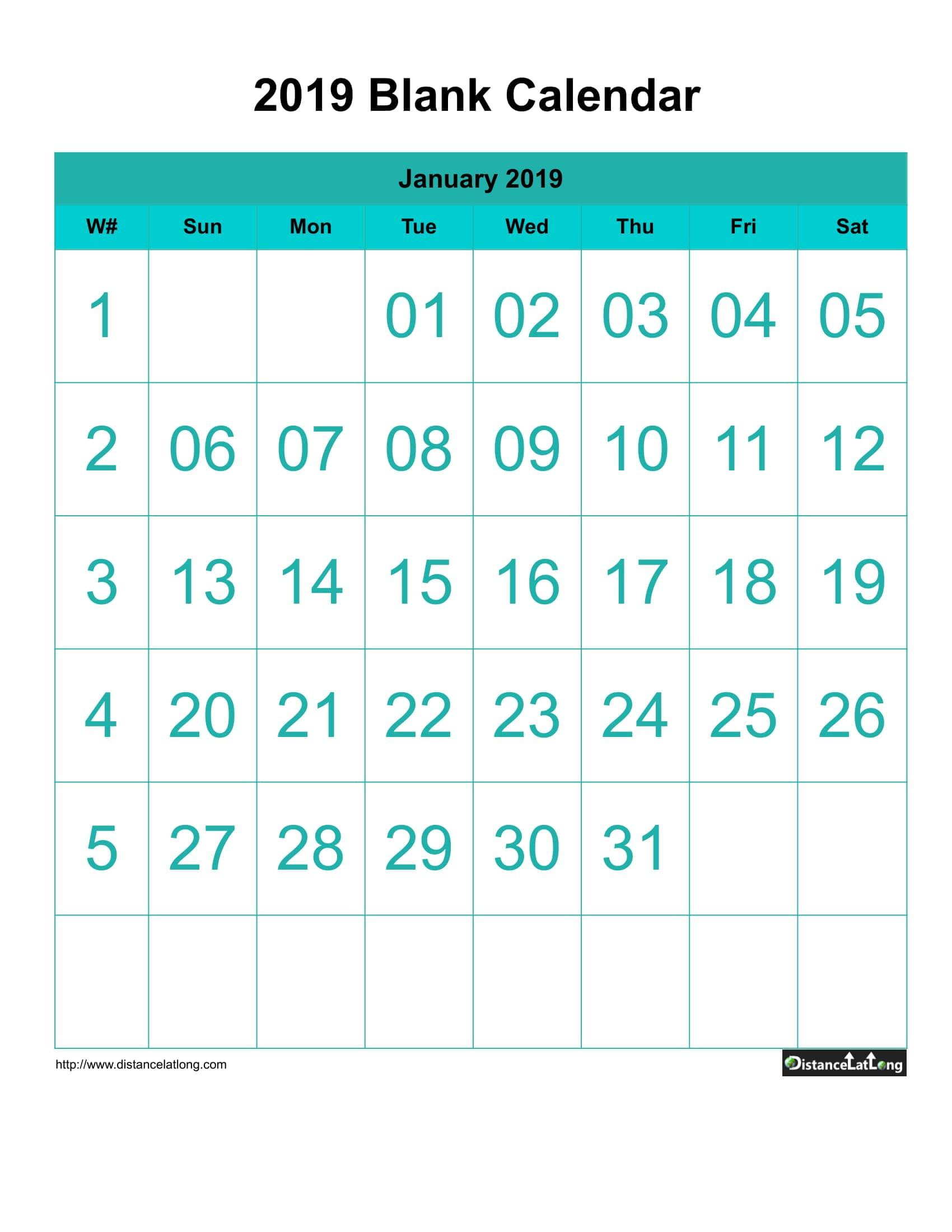 Downloads: 0 Version: 2019 File Size: 184 Kb  Large Font Calendar Templates