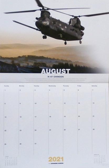 【2021 Boeing Calendar】 ボーイング 2021年 カレンダー  Boeing Calendar