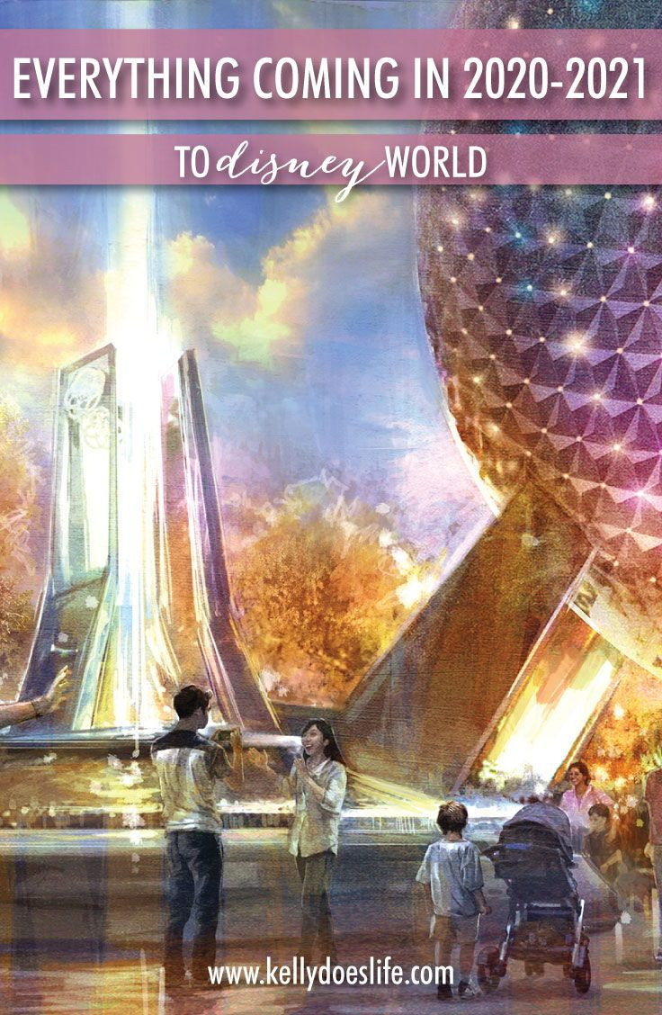 Everything Coming To Disney World In 2020-2021 In 2020  Disney World Attractions List 2021