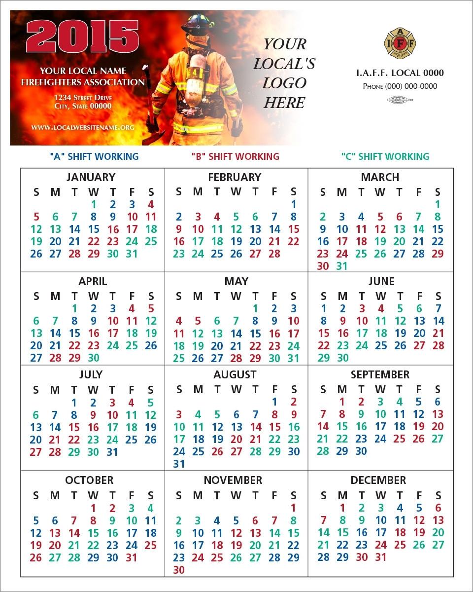 Firefighter 24 48 Shift Calendar - Calendar Inspiration Design  Fdny Shift Schedule