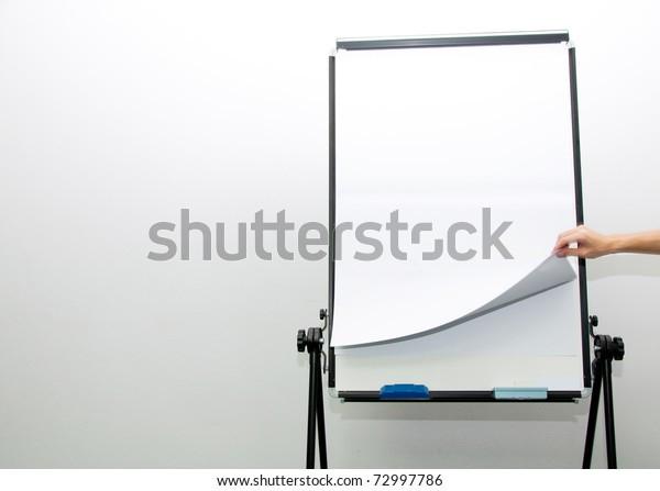 Flip Chart Stock Photo (Edit Now) 72997786  Microsoft Word Flip Chart Template