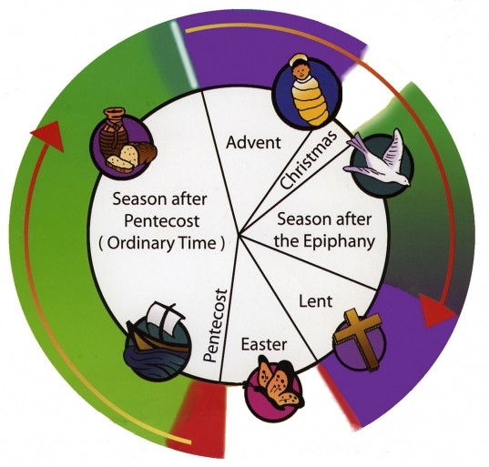 For Church Seasons - Palestine Portal  Liturgical Calendar Um Church