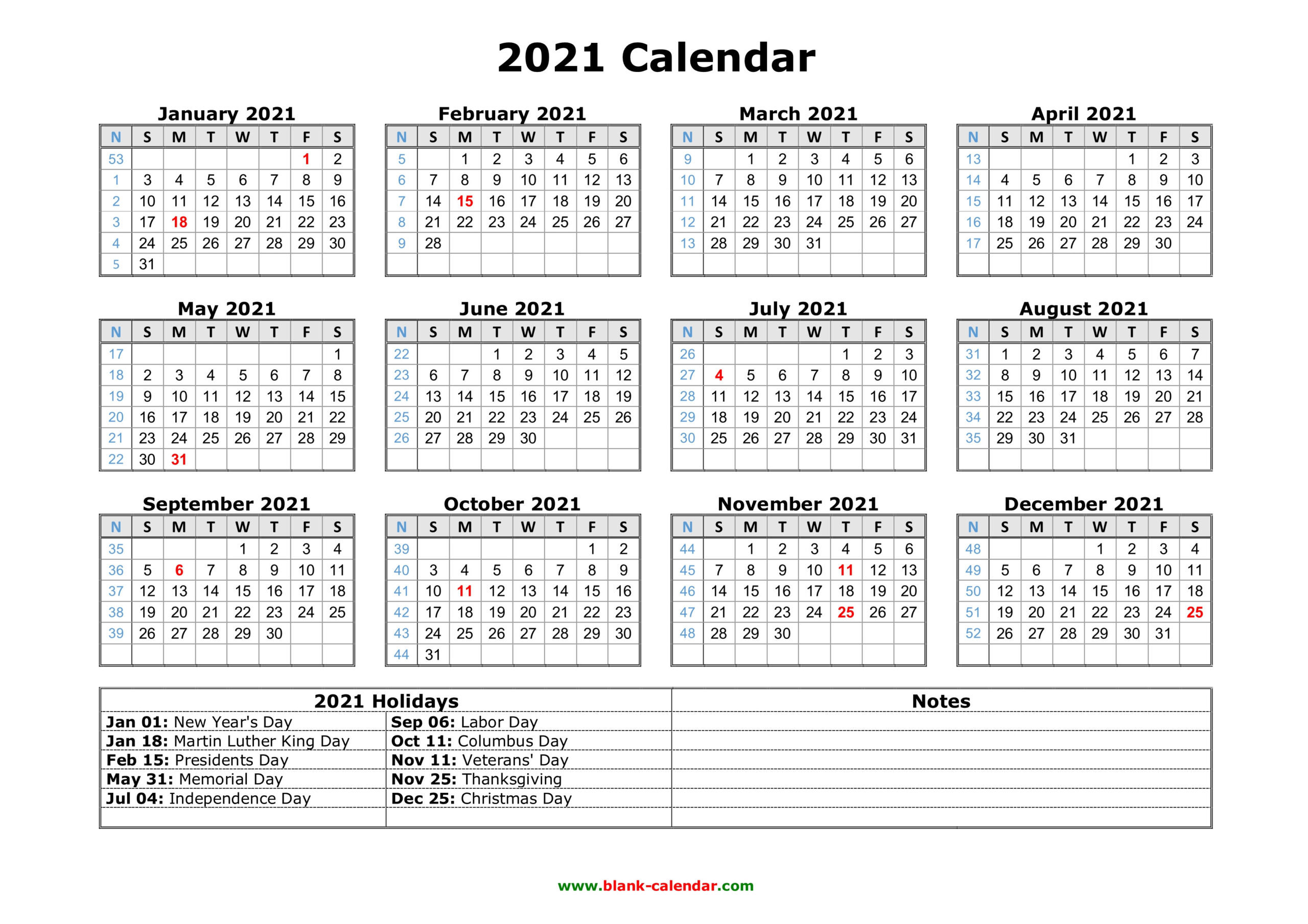 Free Download Printable Calendar 2021 With Us Federal  Financial Year Dates 2021 2021