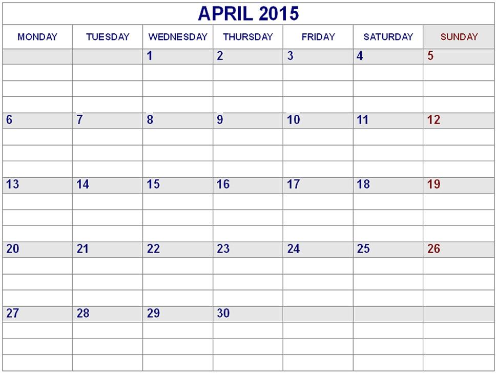 Free Printable Line Calendar :-Free Calendar Template  Full Size Blank Printable Calendar